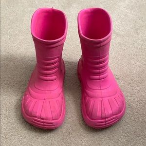 Crocs Rainboots Size J3
